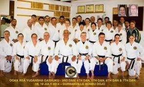 National Gashuku For Senior Black Belts
